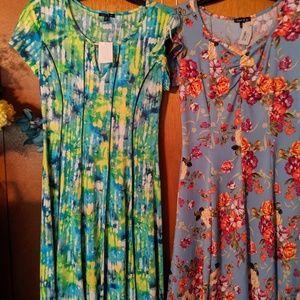 2 junior dresses